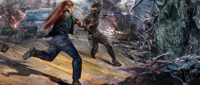 Captain America: Winter Soldier - concept art de Rodney Fuentebella