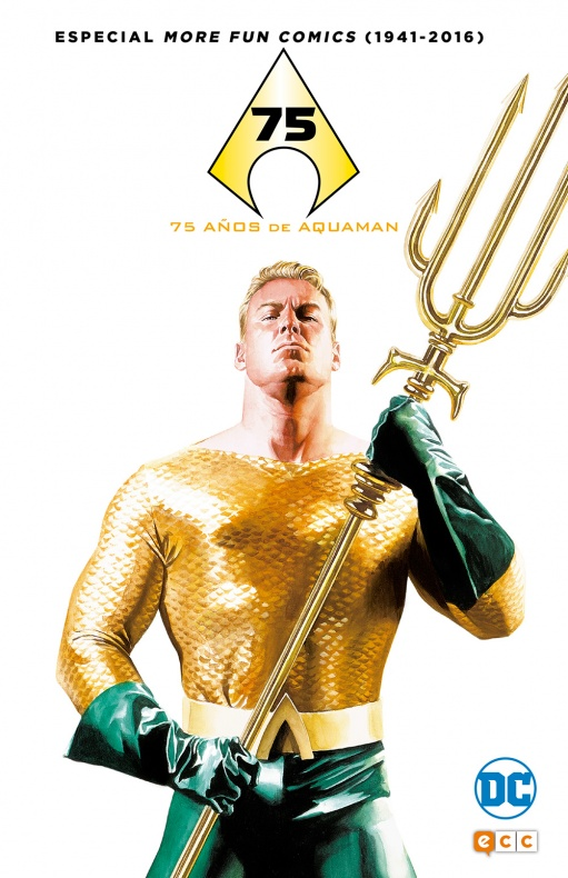 more fun comics 75 años aquaman
