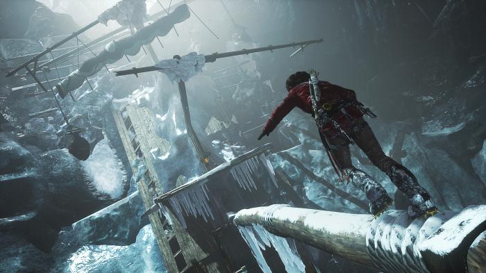 Rise of the Tomb Raider jugabilidad