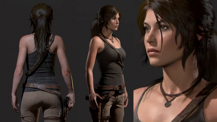 Rise of the Tomb Raider modelo