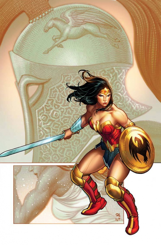 'Wonder Woman' Frank Cho