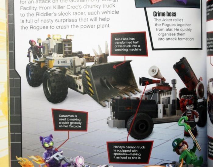 Vehículos y villanos The LEGO Batman Movie