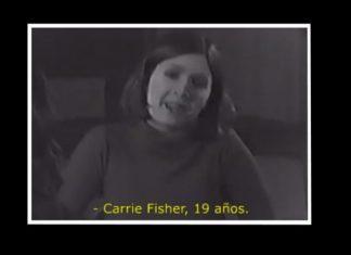 Carrie Fisher audición Leia