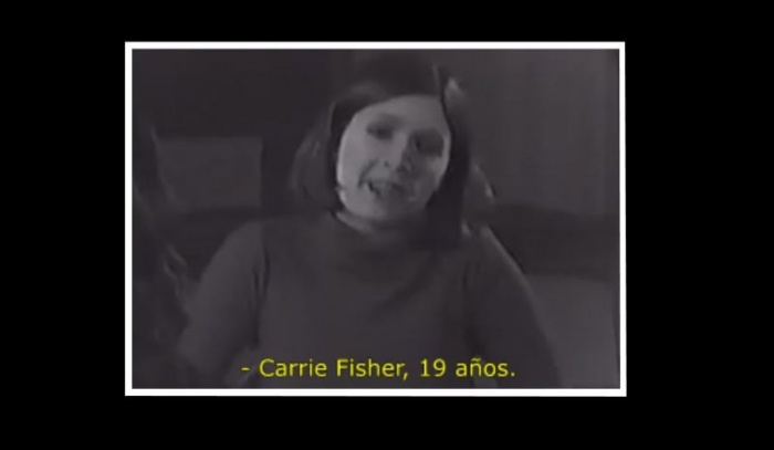 Carrie Fisher audición Leia