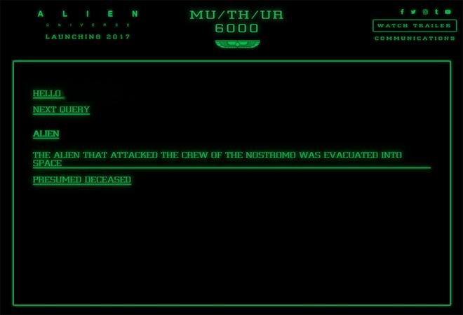 Web Alien Universe