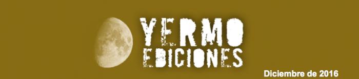 Yermo Ediciones Diciembre