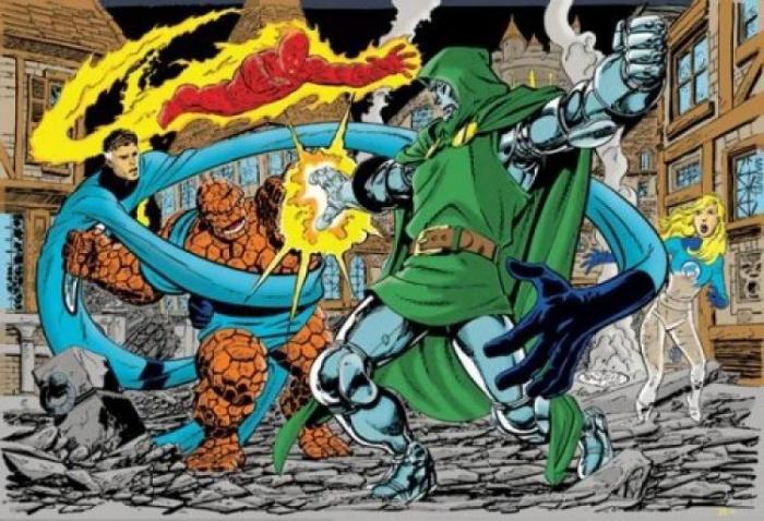 Cuatro Fantasticos contra Doctor Muerte