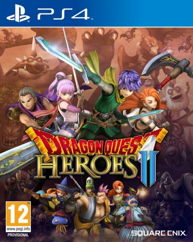 dragon quest heroes II portada