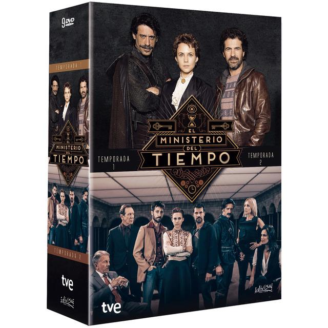 El Ministerio del Tiempo - DVD temporadas 1 + 2