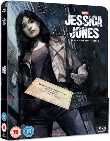 Jessica Jones - Blu-Ray temporada 1 (exclusivo Zavvi)