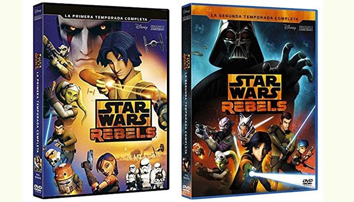 Star Wars Rebels - DVD temporadas 1 y 2