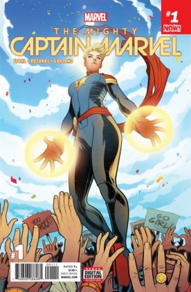 The Mighty Captain Marvel 1 Cover