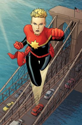 The Mighty Captain Marvel 1 Preview 1