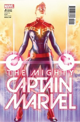 The Mighty Captain Marvel 1 Ross Variant