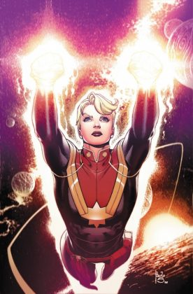 The Mighty Captain Marvel Siqueira Variant