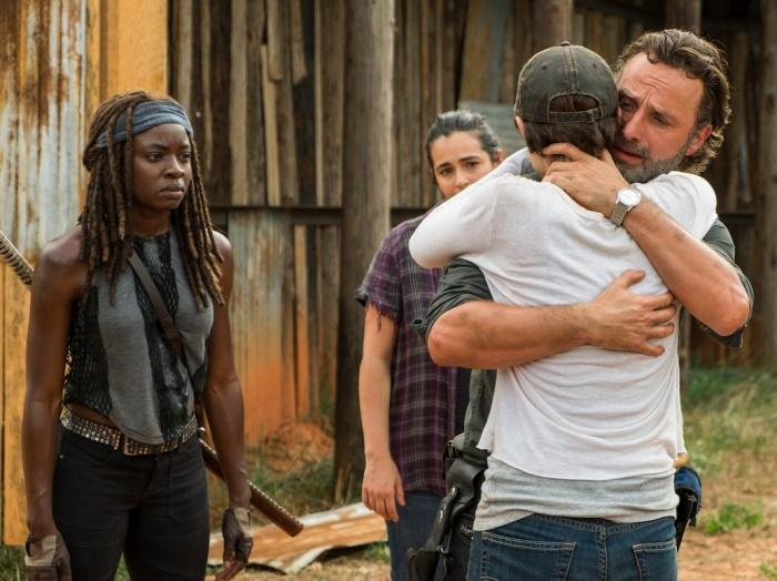The Walking Dead - mid-season 7 finale