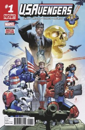 USAvengers 1 Cover