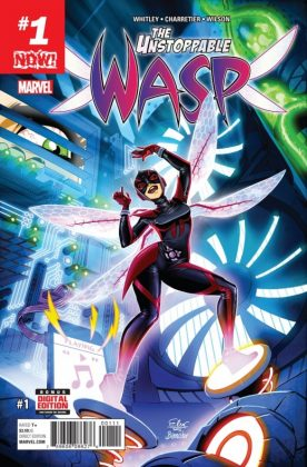 Unstoppable Wasp 1 Cover