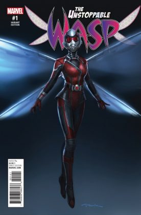 Unstoppable Wasp 1 Movie Variant