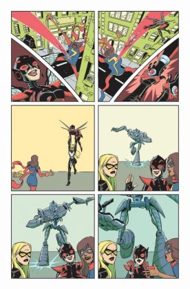 Unstoppable Wasp 1 Preview 2