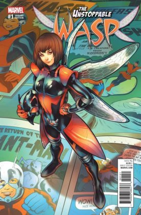 Unstoppable Wasp 1 Torque Variant