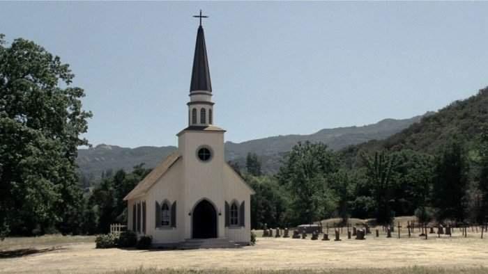 Westworld - iglesia