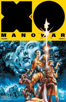X-O Manowar Portada