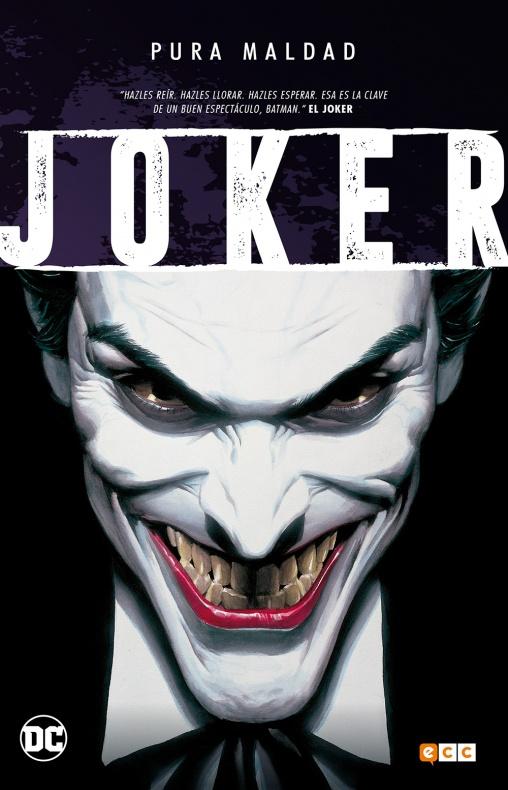 joker pura maldad ecc ediciones