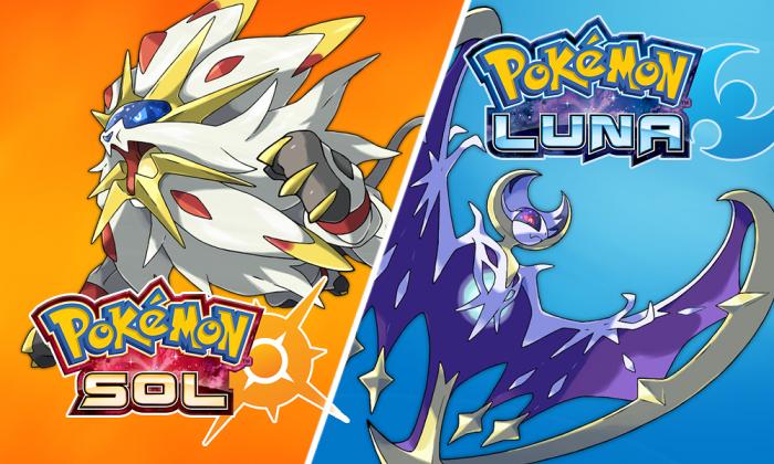 'Pokémon Sol' y 'Pokémon Luna'