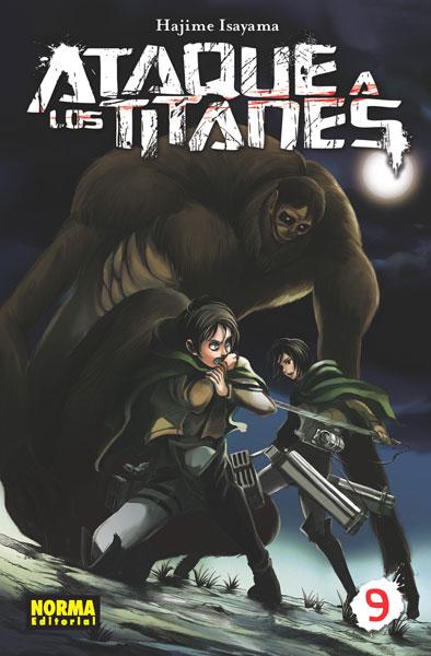 ataque a los titanes 9