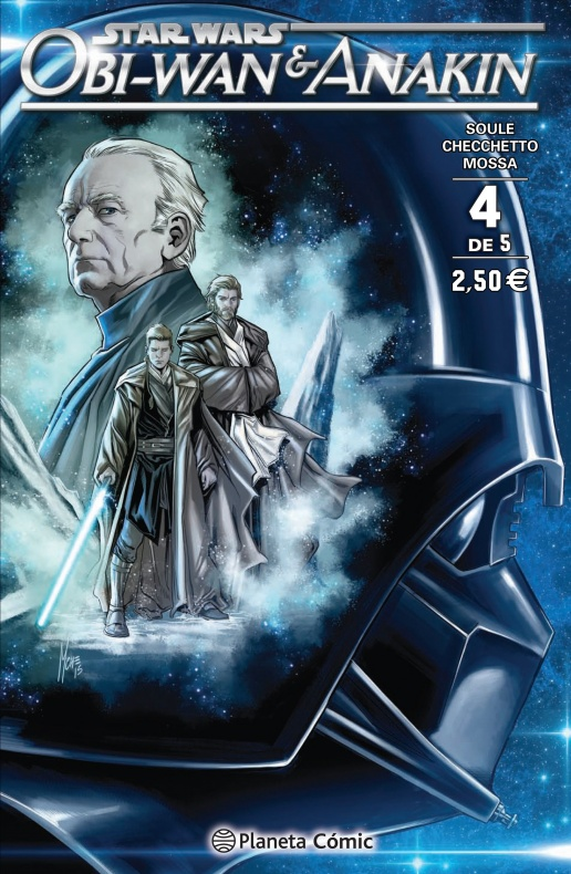star wars obi wan anakin planeta comic