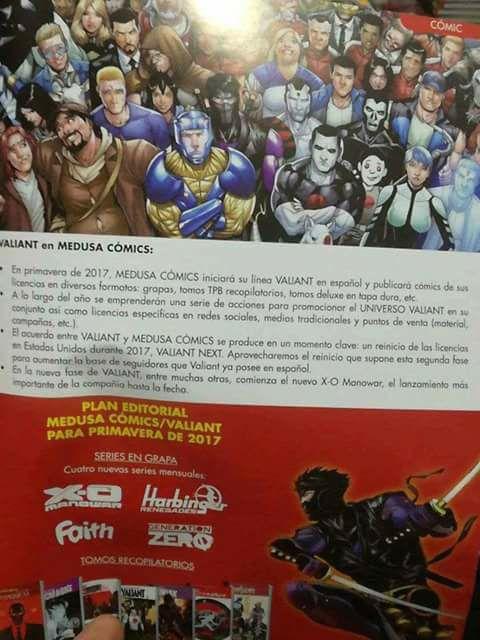 Valiant Medusa Comics