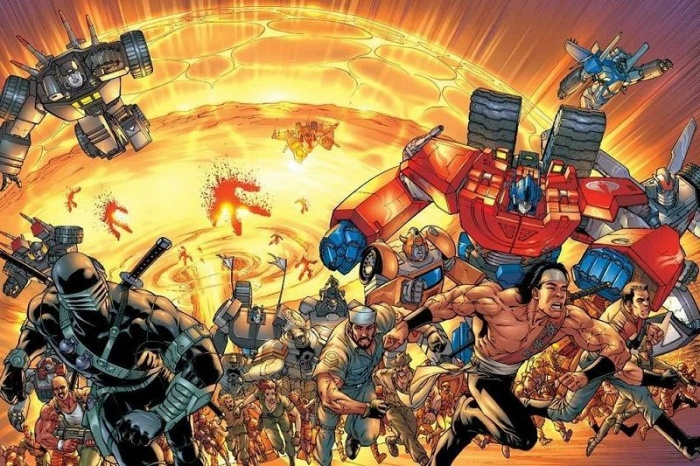G.I Joe 3 Transformers