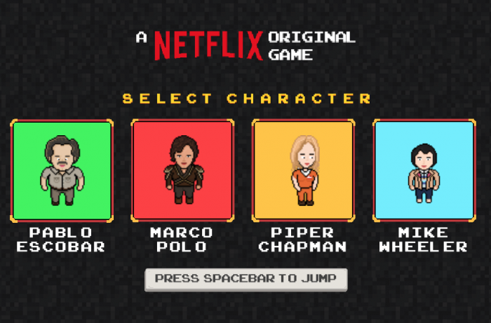 Videojuego Netflix
