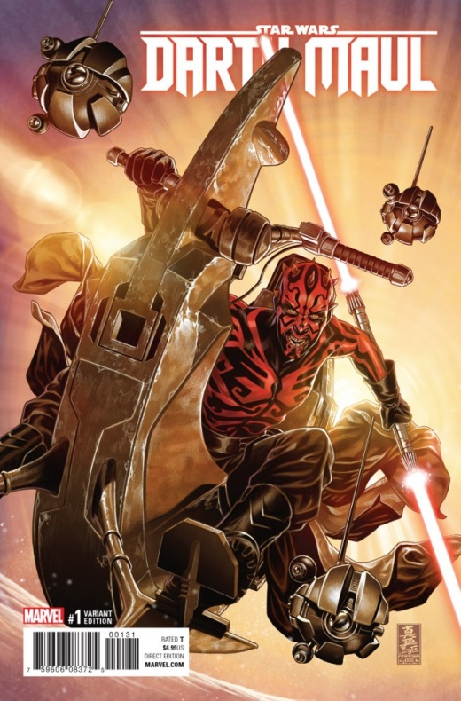 Darth Maul 1 Brooks Variant