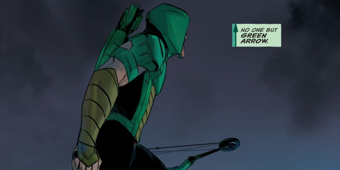 Green Arrow Personaje