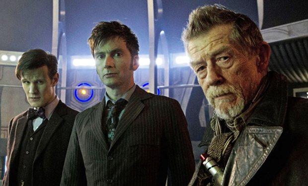 John Hurt - Doctor Who 50 aniversario