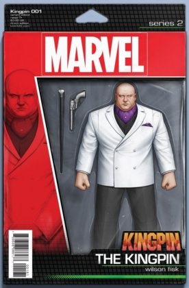 Kingpin 1 Christopher Action Figure Variant