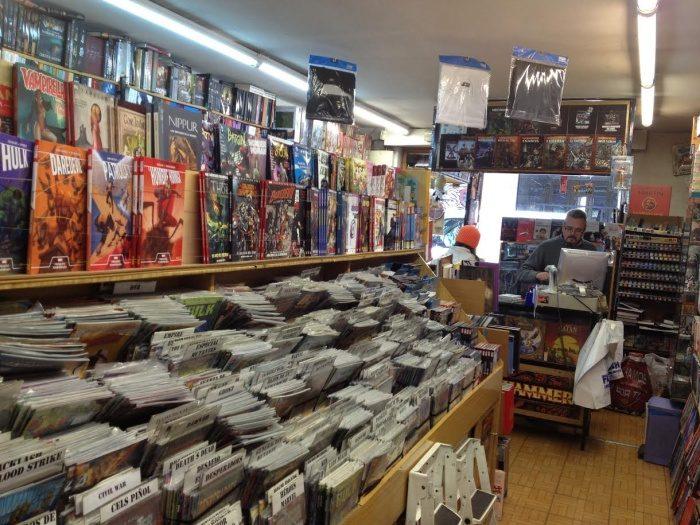 Librería Flash interior