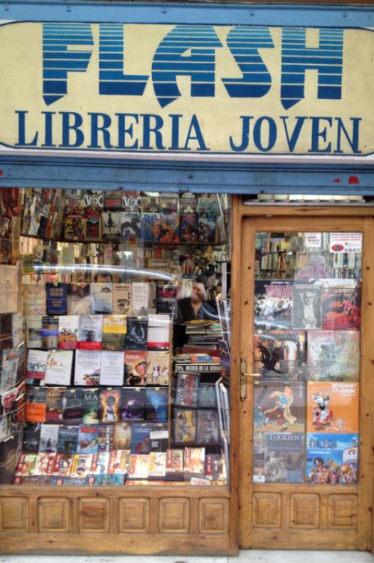 Libreria entrada
