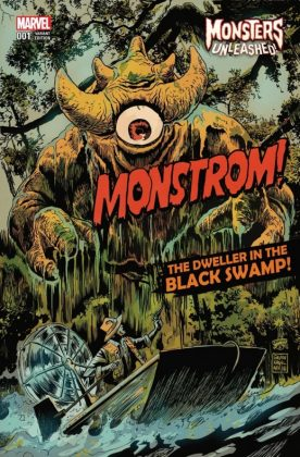 Monsters Unleashed 1 Francavilla Variant