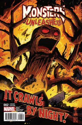 Monsters Unleashed 2 Francavilla Variant