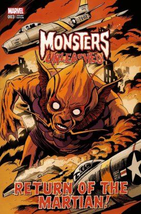 Monsters Unleashed 3 Francavilla Variant