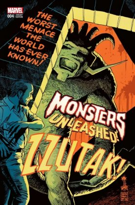 Monsters Unleashed 4 Francavilla Variant