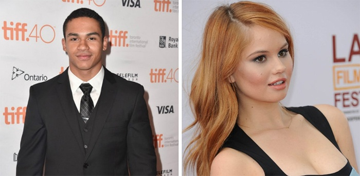 Noah Gray Cabey y Debby Ryan