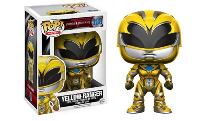 Power Ranger amarillo Funko