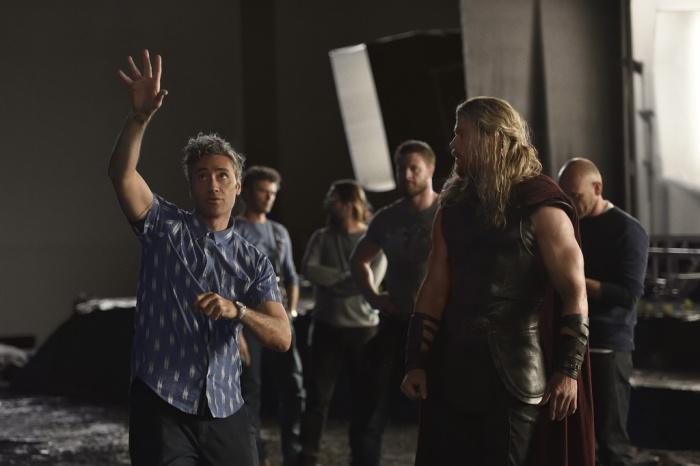 Thor Ragnarok - primera imagen oficial rodaje