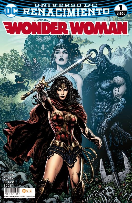 Wonder Woman 1 1 renacimiento ecc