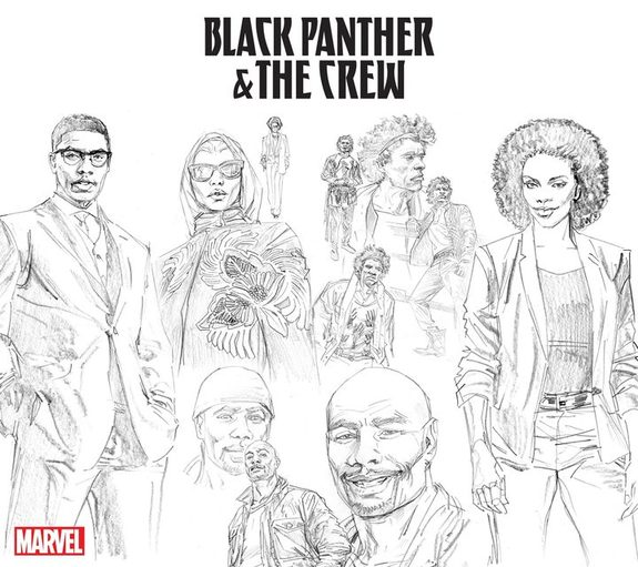 Black Panther & The Crew