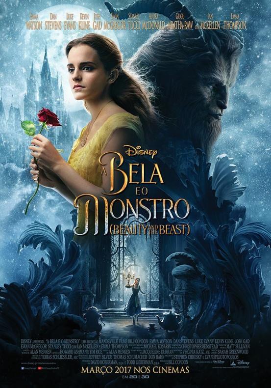 la bella y la bestia póster